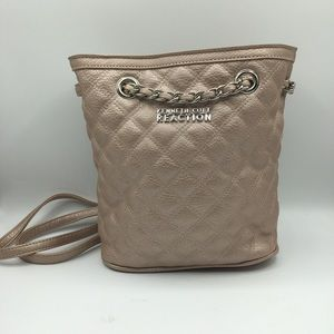 Kenneth Cole Reaction Pink Quilted Drawstring
